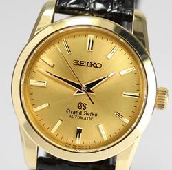 セイコー GRANDSEIKO グランドセイコー メカニカル オートマチック SBGR002 9S51 0010 メンズ 腕時計 K18YG イエローゴールド ウォッチ
