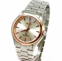 文字盤:銀文字盤                   ムーブメント:クォーツ                   ケース素材:K18PG(ピンクゴールド) SS(ステンレス)                   ベルト素材:SS(ステンレス)                   セイコー SEIKO 腕時計