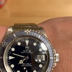 完品買っておいて良かった✌️                                      16年前は見向きもしなかった時計だったが…